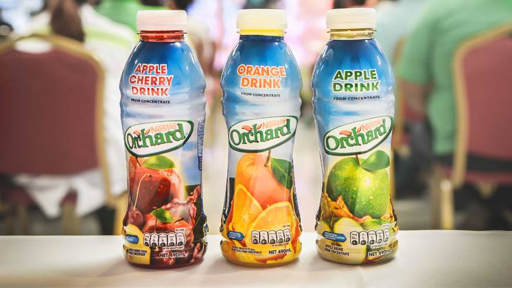 What is the difference between ORCHARD® Juices and ORCHARD® Drinks?